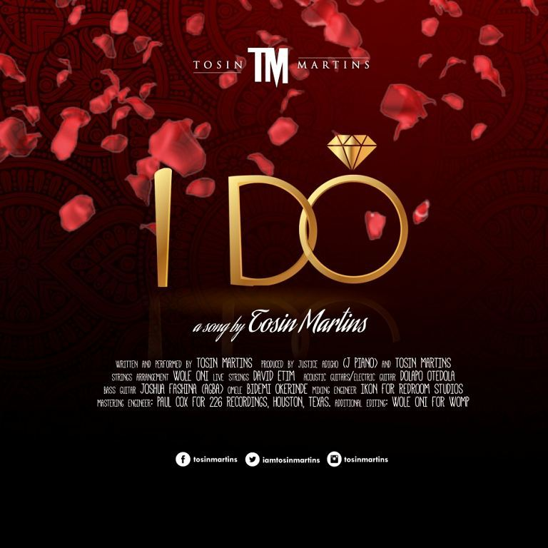 "BellaNaija - Tosin Martins returns with Lovely New Single ""I Do"" 