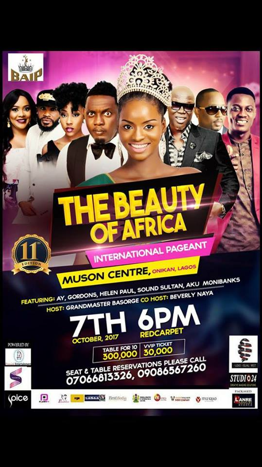 Beauty of Africa International Pageant