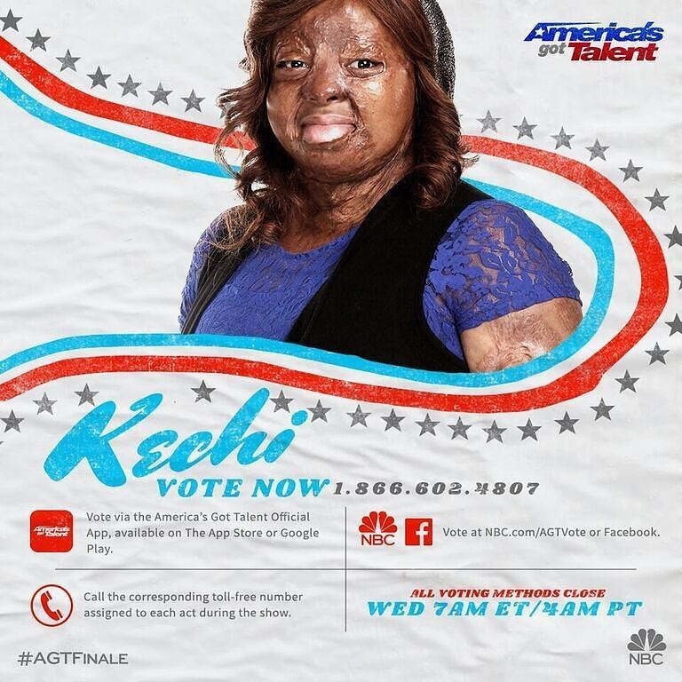 Plane crash survivor, Okwuchi, is a conqueror on AGT finale