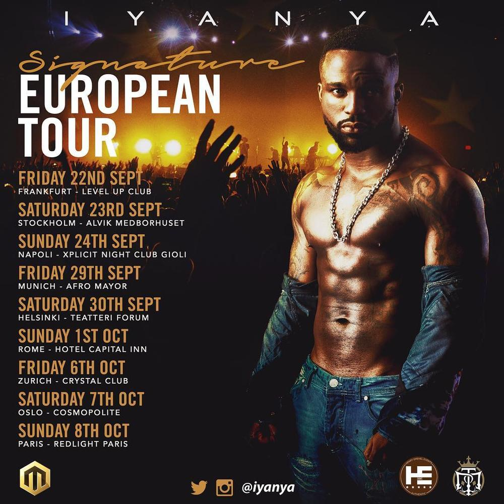 "BellaNaija - Iyanya heads out to Europe for ""Singnature"" EP Tour"