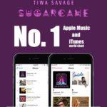 "BellaNaija - Tiwa Savage's New EP ""Sugarcane"" tops iTunes & Apple Music charts"