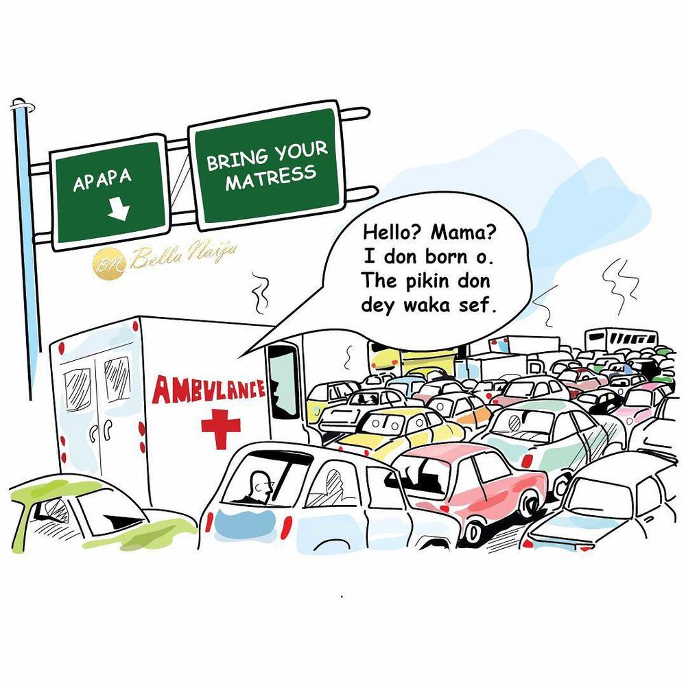 BellaNaija - Lagos Traffic Chronicles: How is the traffic in your area?