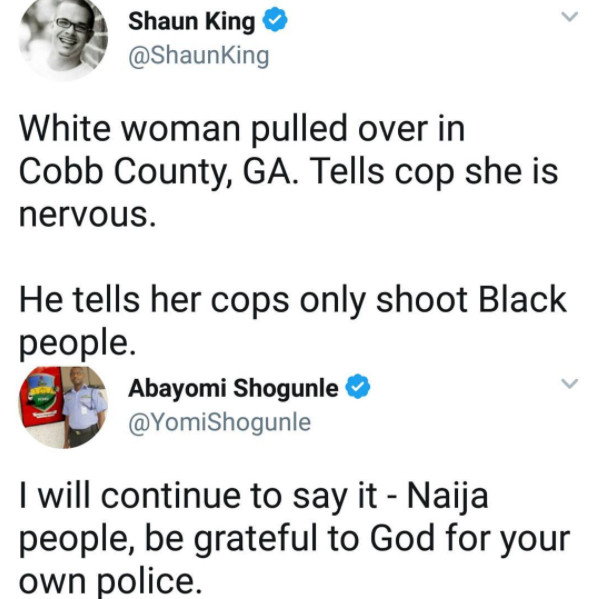 The ACP Yomi Shogunle Tweet that got Twitter Users Talking