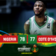 Afrobasket Championship: Watch highlights of Nigeria's dramatic win over Cote d'Ivoire in Opening game