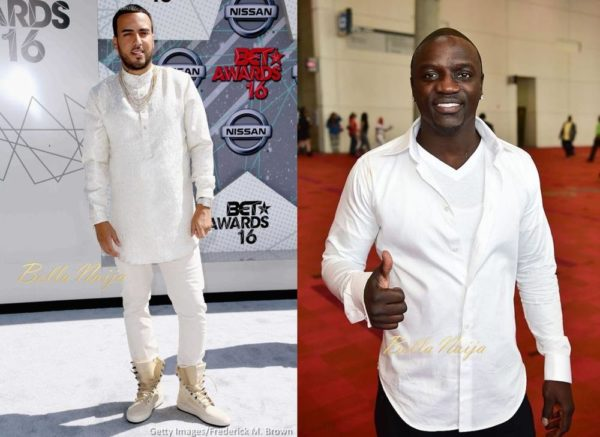 Akon gave me a Fake Watch for my Birthday - French Montana - BellaNaija