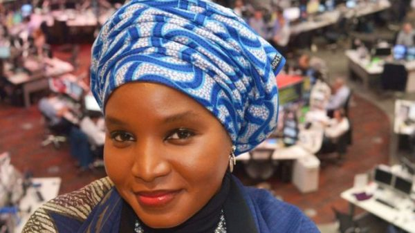 Nigeria's Amina Yuguda receives the Komla Dumor 2017 Award - BellaNaija