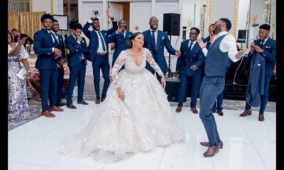 BN Weddings - Video: #MeetTheAdemuwaguns Reception Entrance Dance