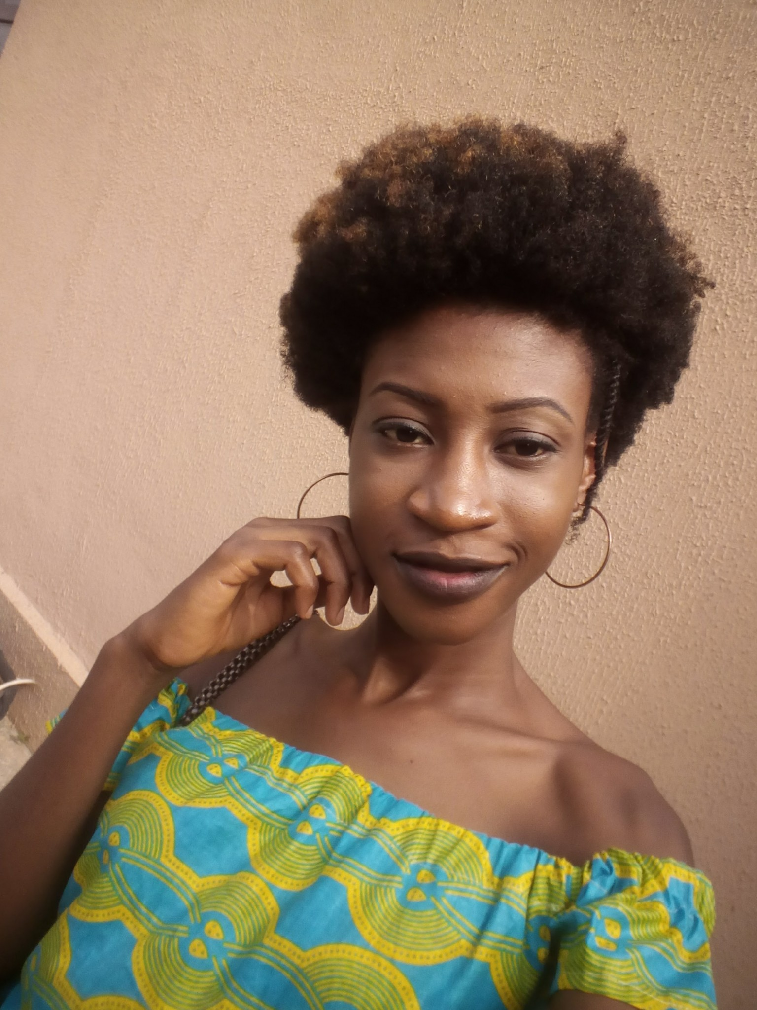 10 Natural Makeup Ideas For Everyday: #BNFroFriday: Chinny Francis Shares Natural Hair Journey