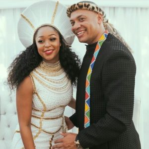 #BecomingMrsJones: First Look at Minnie Dlamini's Wedding in South Africa