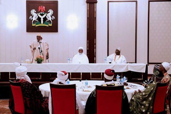 President Buhari laments spending of Paris Club Refund by Governors- BellaNaija
