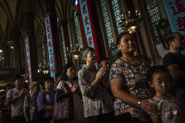 China bans Children from attending Church Services - BellaNaija