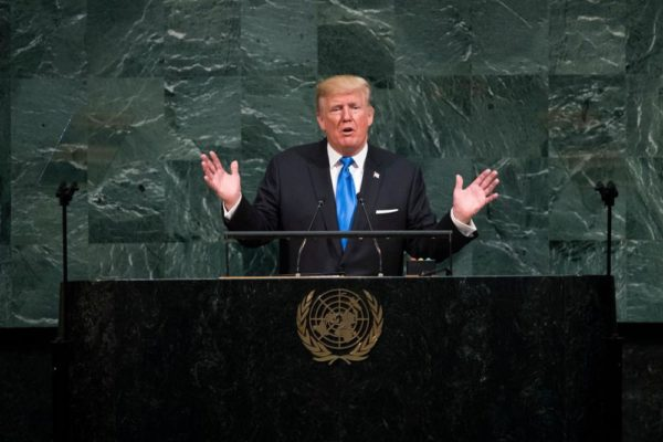 We will totally destroy North Korea - Donald Trump - BellaNaija