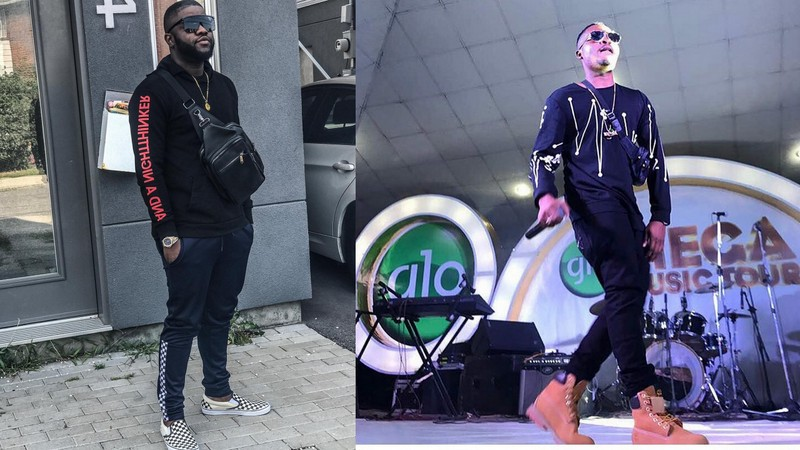 "BellaNaija - Olamide gave me money to shoot ""Shake Body"" Video - Skales"
