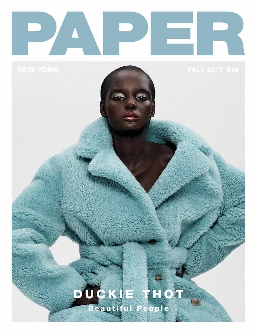 Black Girl Magic! Duckie Thot Covers Paper Magazine