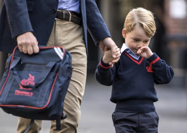 GettyImages-843621624-600x427 Adorabe Photos Of Prince George Has He Officially Starts School Foreign