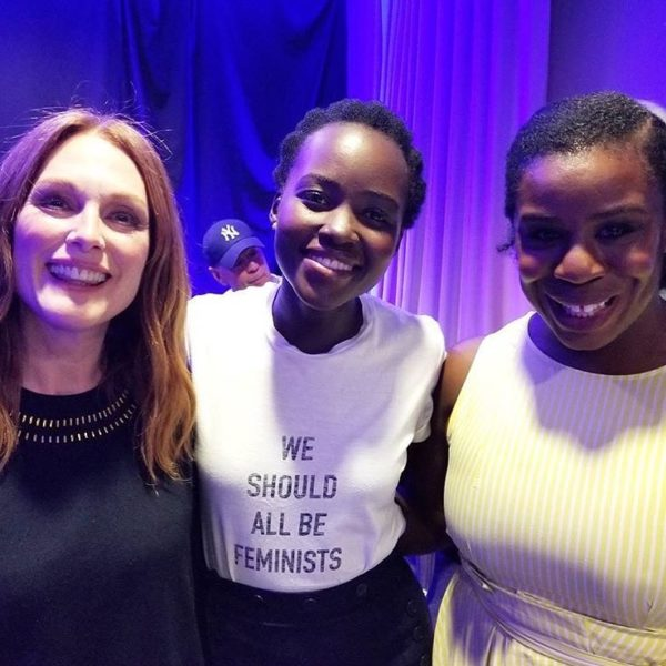 Lupita Nyong'o, Uzo Aduba, Drake raise $15m toward Hurricane Relief - BellaNaija