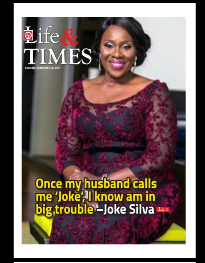 Joke Silva Speaks On Domestic violence, The Secret Behind Her Successful Marriage In New Interview