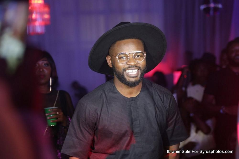 BellaNaija - Falz, Darey, Toke Makinwa and all the beautiful people at Simi's #SimisolaTheAlbum Launch ?