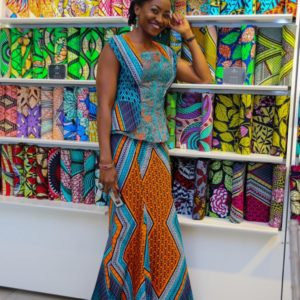 For the Love of Prints & Ankara! Vlisco Boutique hosts Guests to a Meet & Greet Event with Kate Henshaw