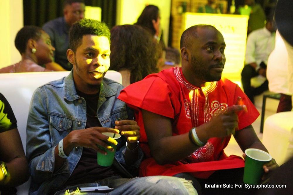 BellaNaija - Falz, Darey, Toke Makinwa and all the beautiful people at Simi's #SimisolaTheAlbum Launch ?