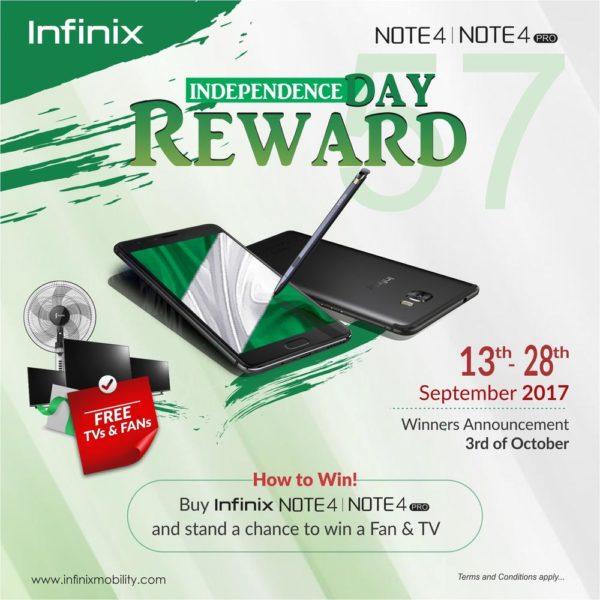 Infinix Note 4