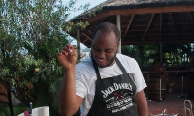 Watch Chef Fregz serve up a Unique Burger Recipe & Lamb Chops in Jack Daniel's Cookout Episode 2