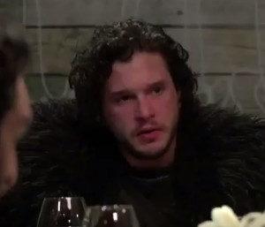 Watch this Hilarious Skit of Jon Snow at Dinner - BellaNaija