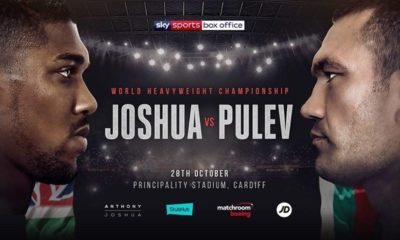 Anthony Joshua to defend heavyweight world titles against Kubrat Pulev