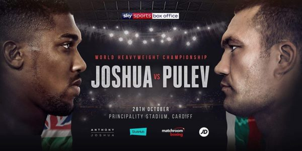 Dailynewsvibe - Anthony Joshua to defend heavyweight world titles against Kubrat Pulev