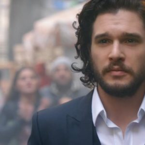 "Targeryan Love! ""Game of Thrones'"" Emilia Clarke & Kit Harrington star in Dolce & Gabbana Fragrance Ads - BellaNaija"