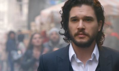 "Targeryan Love! ""Game of Thrones'"" Emilia Clarke & Kit Harrington star in Dolce & Gabbana Fragrance Ads - BellaNaija"