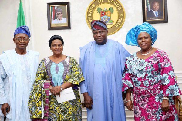 Lagos unveils 20 Feet Statue of Awolowo - BellaNaija