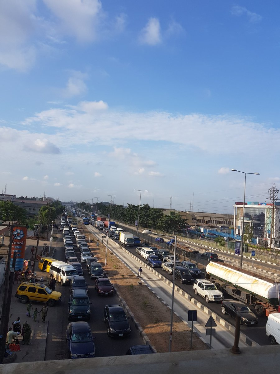 Lagos Traffic - What exactly is Happening? - BellaNaija