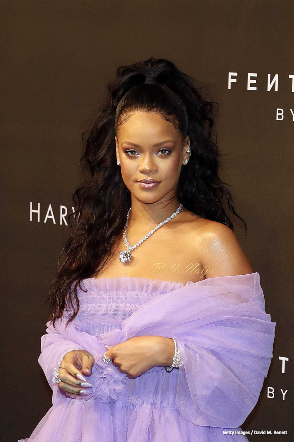 Beauty Launch The Mac Punk Couture Collection: Purple Princess! 💜 Rihanna Dazzles For Fenty Beauty Launch