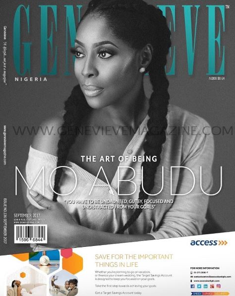 The Art of Being Mo Abudu!Mo Abudu Is The September Cover Star For Genevieve Magazine