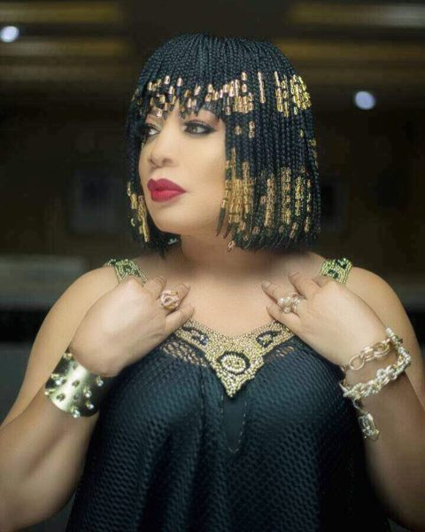 Queen! Monalisa Chinda Coker in Cleopatra inspired Photoshoot for Birthday - BellaNaija