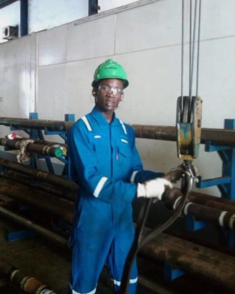 Mr Eazi shares Throwback Photo of himself as an Engineer - BellaNaija