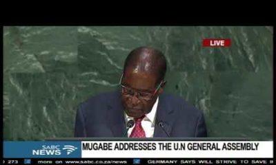 "Did Mugabe just call Trump a ""Goliath""? - BellaNaija"