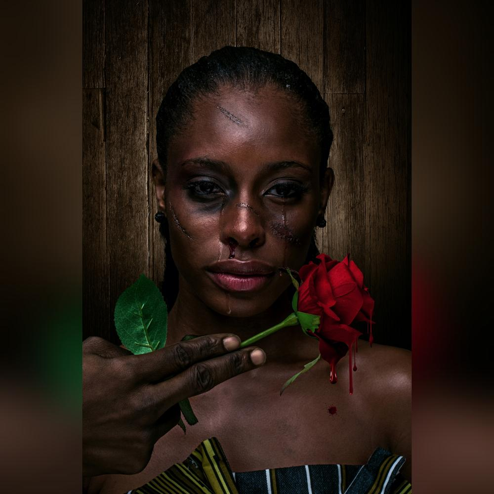 Vanguard Allure Tells The Story Of Victim Of Domestic Violence With A Thought Provoking Editorial