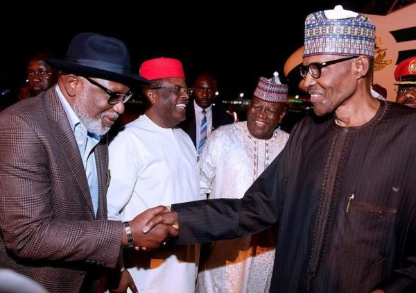 President Buhari arrives Nigeria from London - BellaNaija