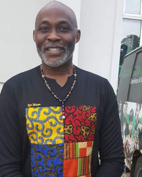 """After 5 Years Of Dreaming"" Actor Richard Mofe-Damijo Is Shooting His 1st TV Series."