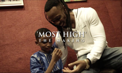 "BellaNaija - WATCH: The making of Flavour's ""Most High"" Video featuring Semah"