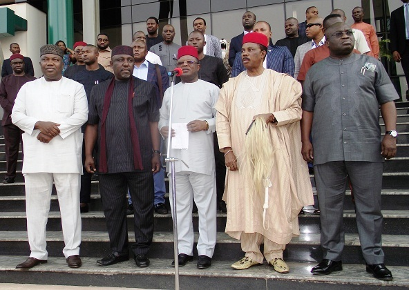 BellaNaija - We are not for IPOB - South East Governors Forum