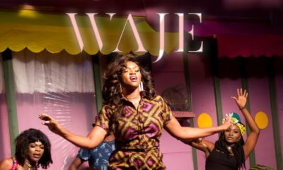 """BellaNaija - Waje drops Colorful Music Video for New Single """"In The Air""""   WATCH"""