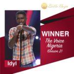 BellaNaija - #TVNFinale: And the winner is... Idyl wins #TheVoiceNigeria Season 2!!! 🎉🎉🎉