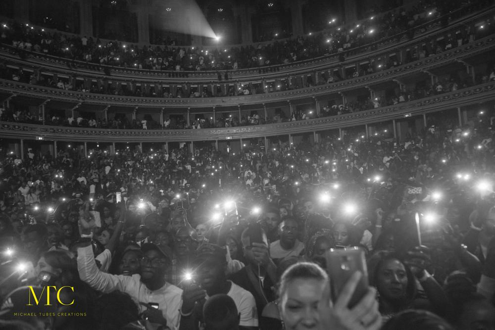 From Ojuelegba to the World! Wizkid Sold out the Royal Albert Hall in London & it was a Night to Remember