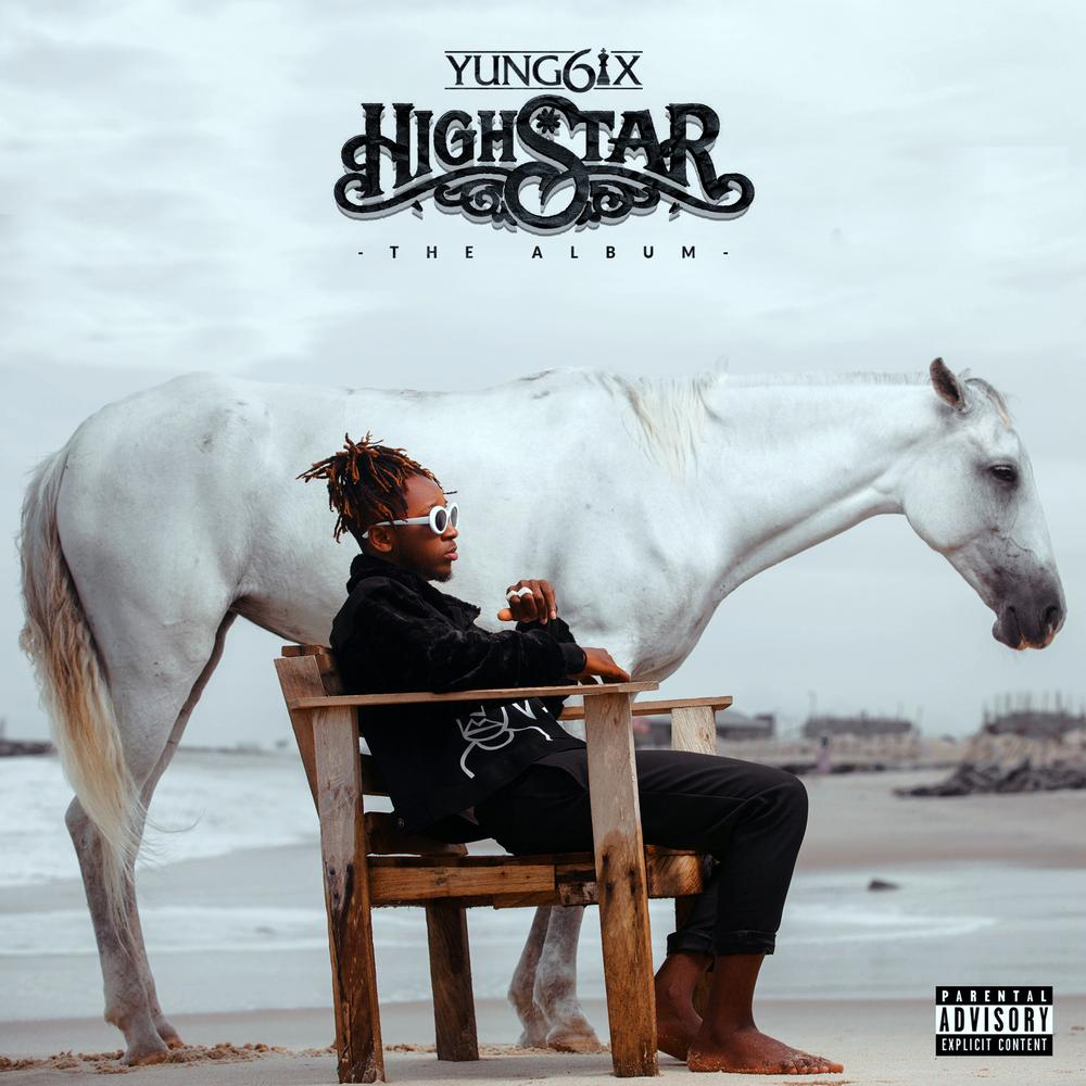 "BellaNaija - Yung6ix unveils Cover Art for forthcoming Album ""High Star"""