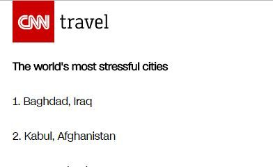 BellaNaija - Lagos ranks third on CNN's list of most stressful cities in the World