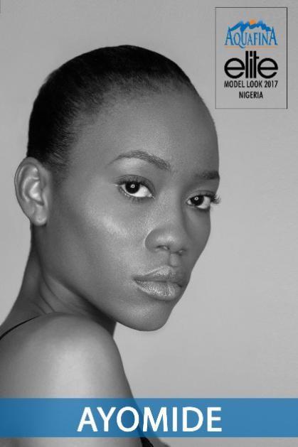 Aquafina Elite Model Look Nigeria