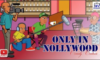 BellaNaija - Only in Nollywood: This Cartoon Comedy is quite Hilarious ?